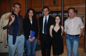 Inaugurazione di una rassegna d'arte italiana a Bruxelles